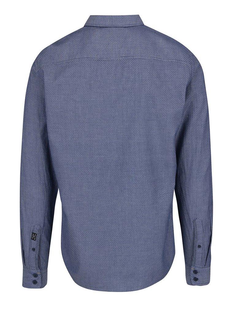 Modrá vzorovaná košile Blend