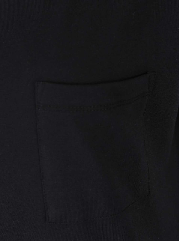 Čierne voľné šaty s vreckom VILA Dreamers