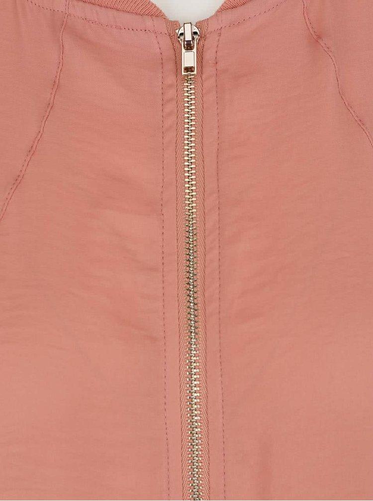 Jachetă bomber roz prăfuit VILA Melli