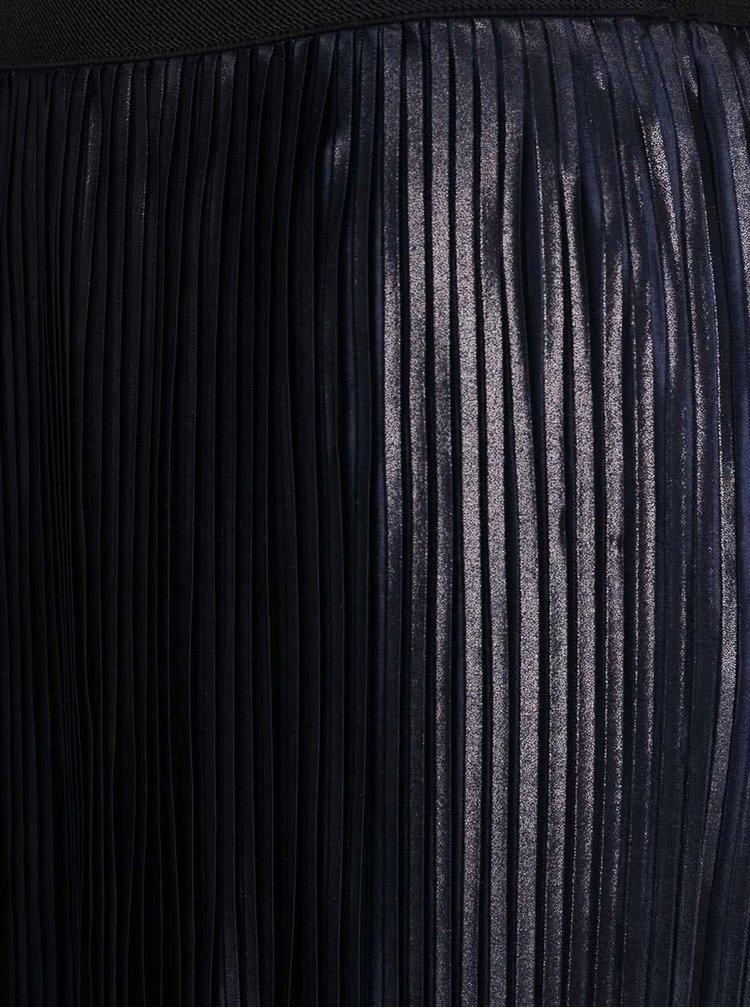 Fustă albastru ultramarin metalic VERO MODA Plea