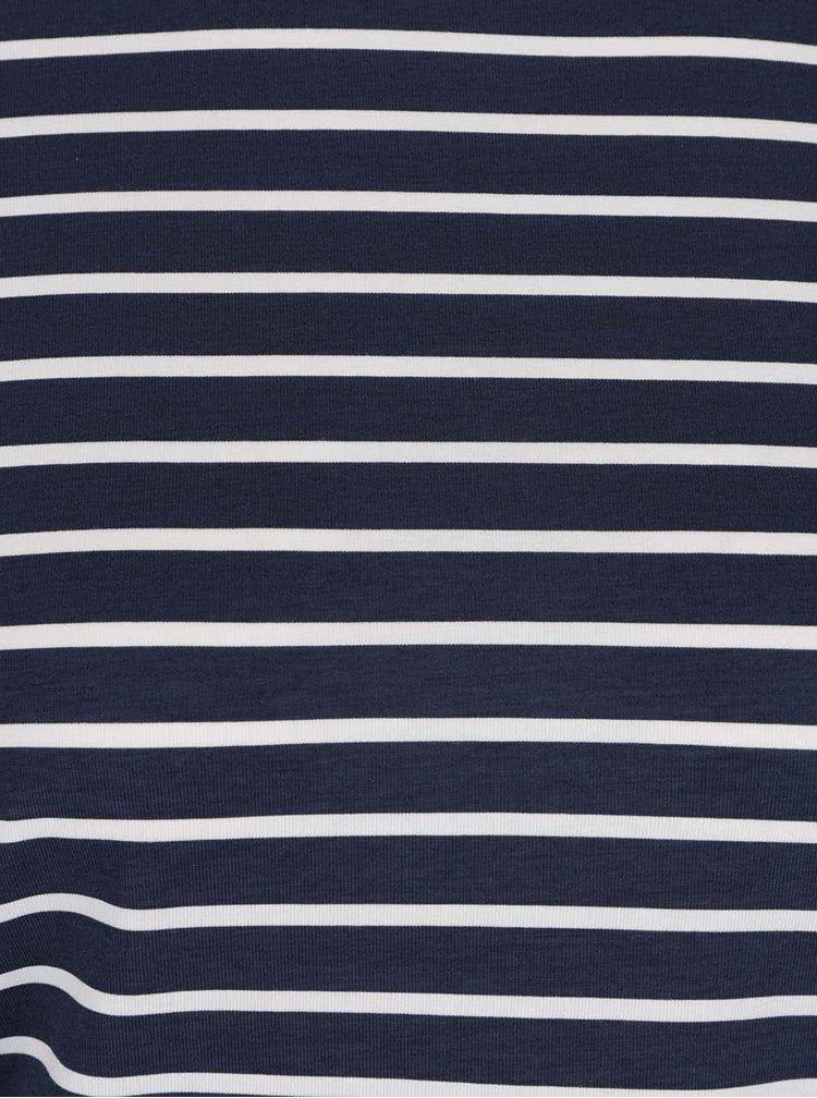 Bluză bleumarin cu dungi VERO MODA Sailor