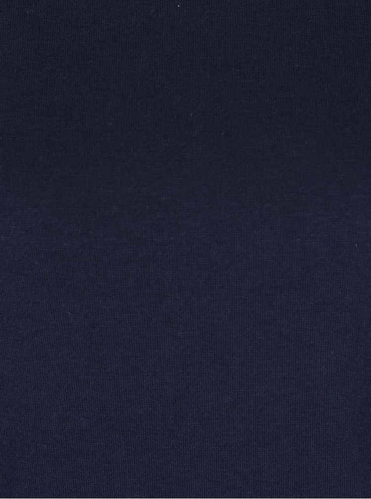 Bluza albastru inchis cu detalii din dantela  VERO MODA Gry
