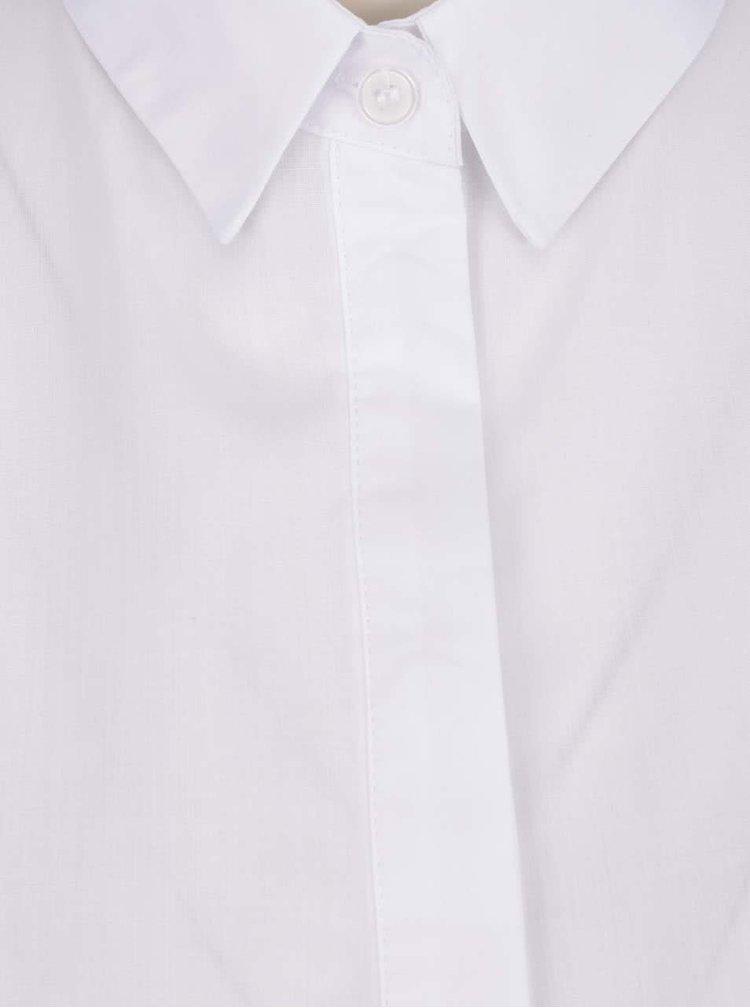 Bílá košile se zvonovými rukávy Miss Selfridge