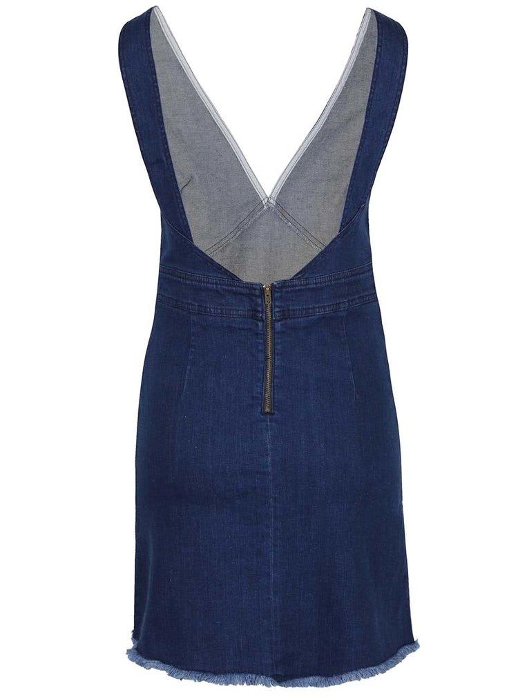 Modré džínové šaty Miss Selfridge