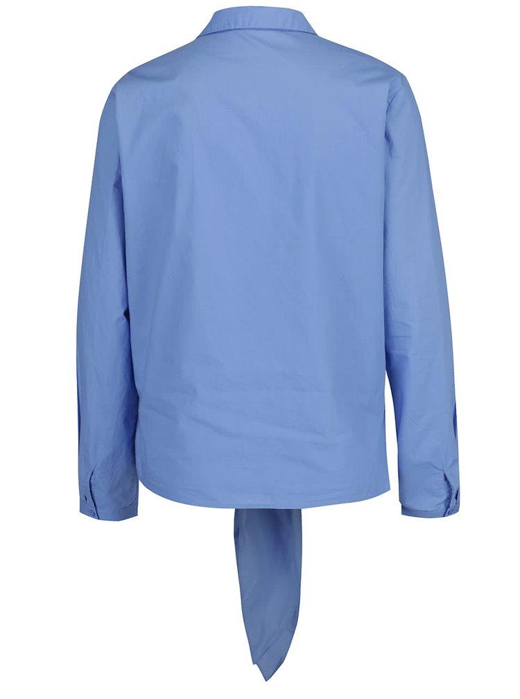 Modrá košile s vázáním VERO MODA Grace