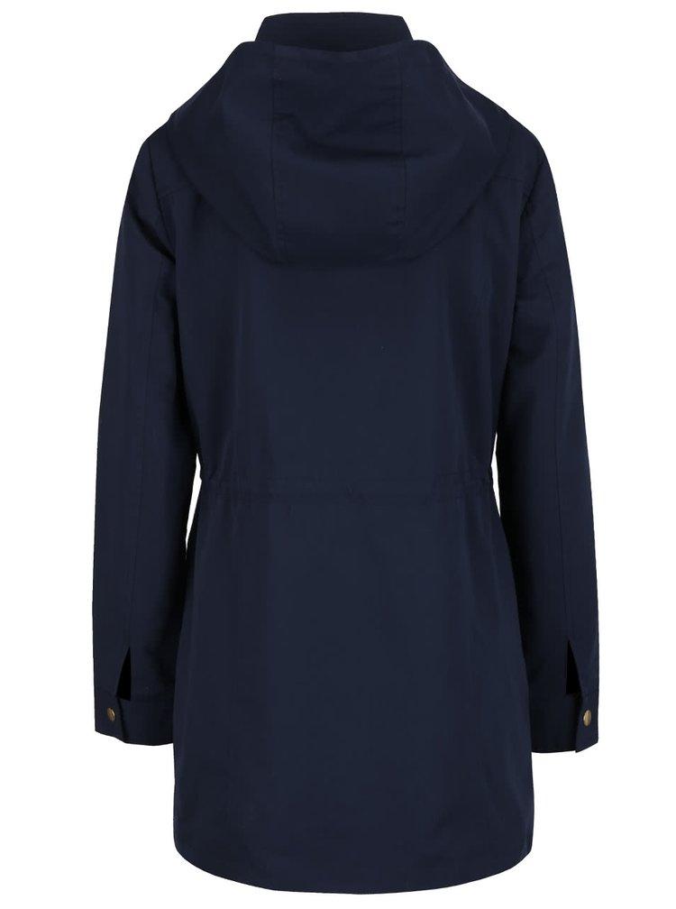 Jachetă bleumarin cu glugă VERO MODA Pernille