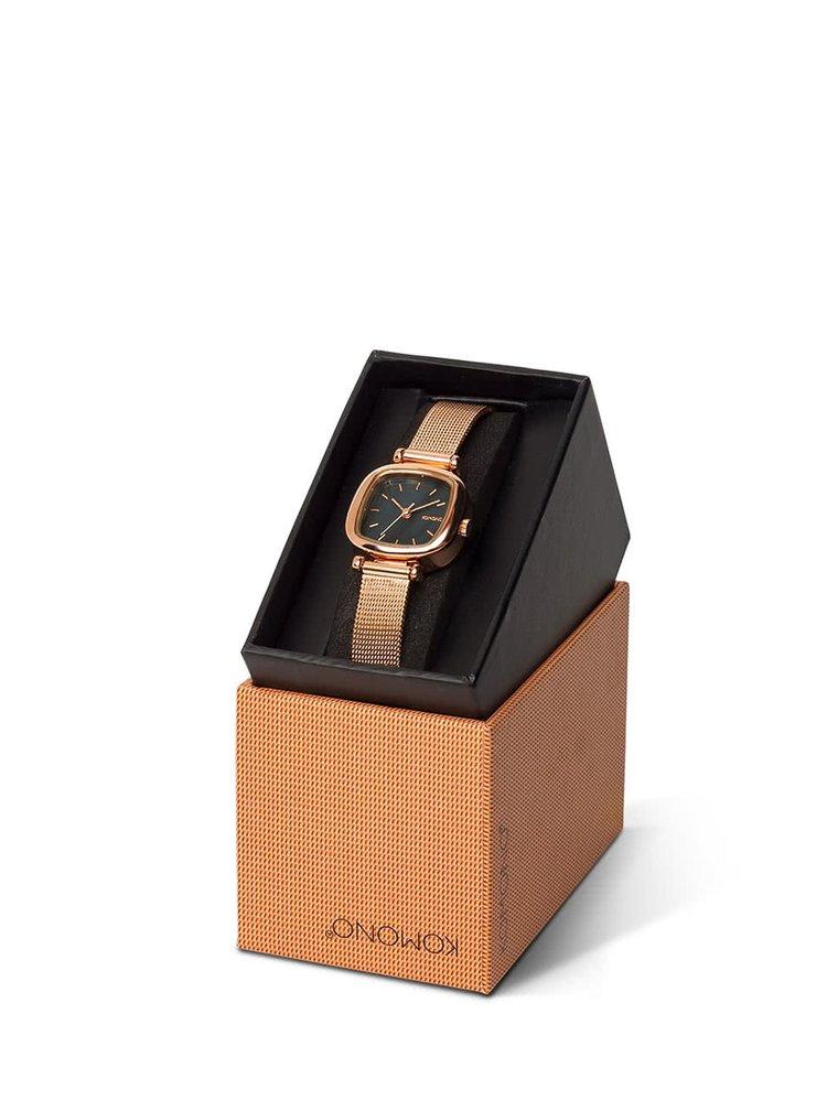 Dámské hodinky ve zlatorůžové barvě Komono Moneypenny Royale