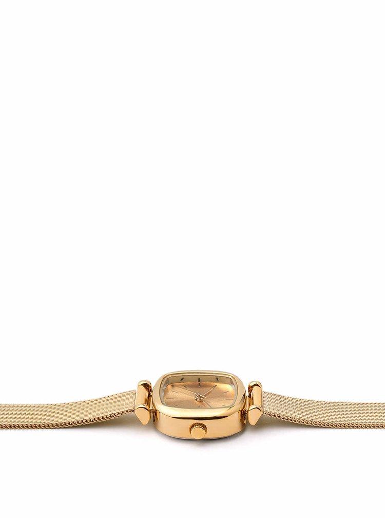 Dámské hodinky ve zlaté barvě s nerezovým páskem Komono Moneypenny Royale
