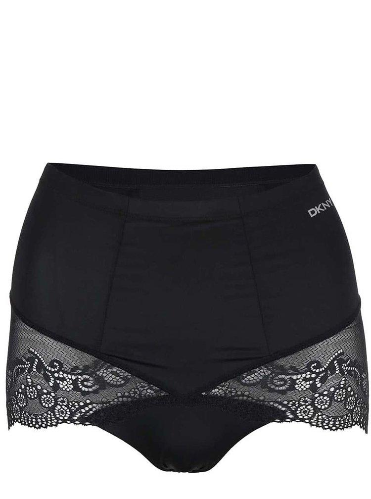 Čierne sťahovacie nohavičky DKNY