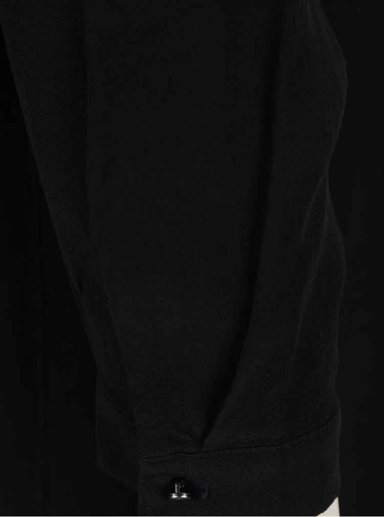 Černá halenka s vázankou s.Oliver