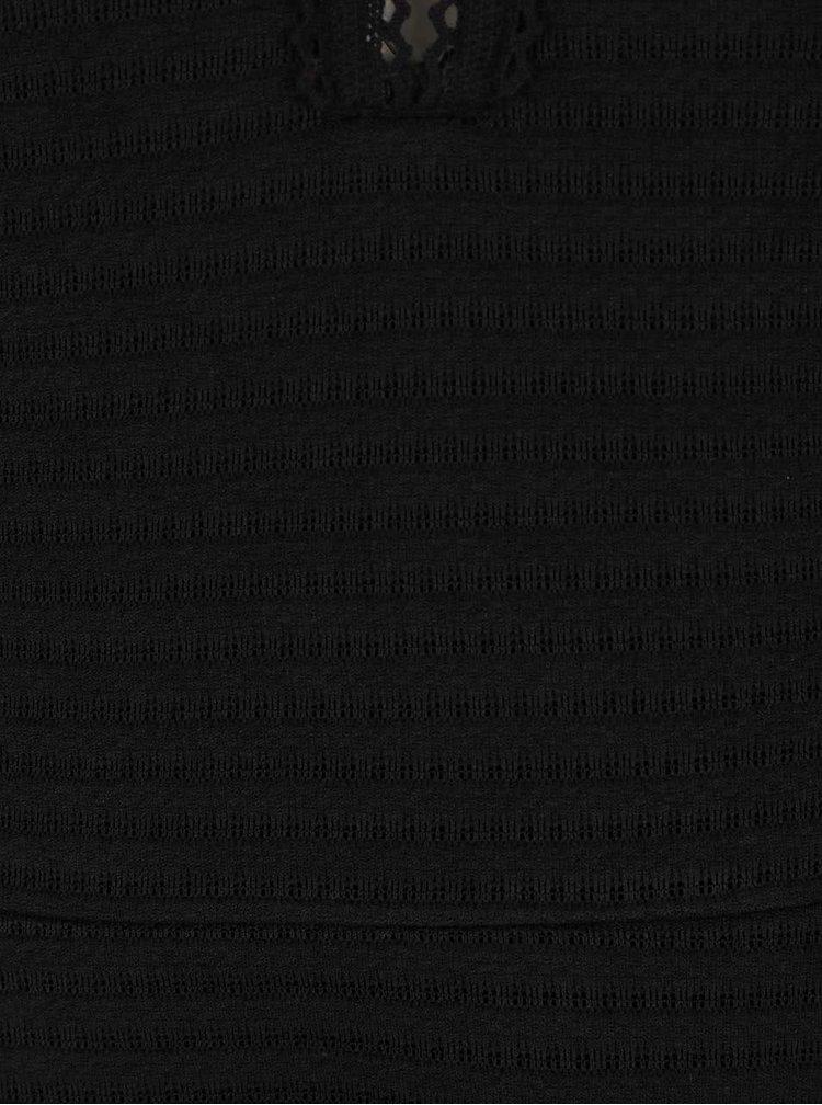 Rochie neagră s.Oliver cu mâneci trei sferturi