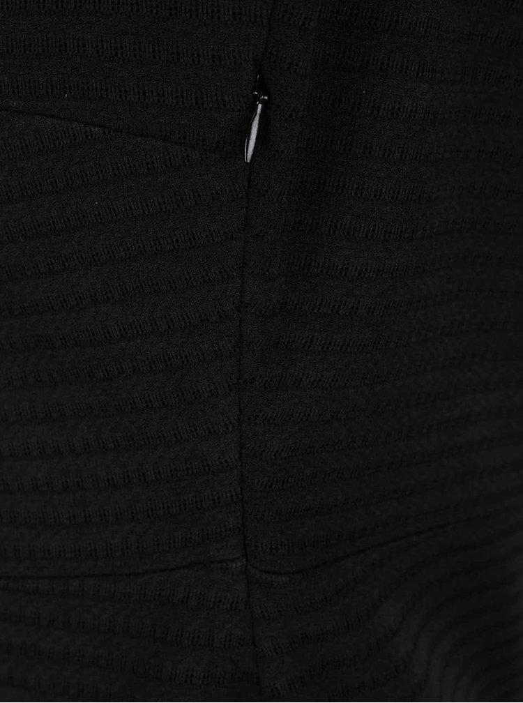 Černé šaty s 3/4 rukávem s.Oliver