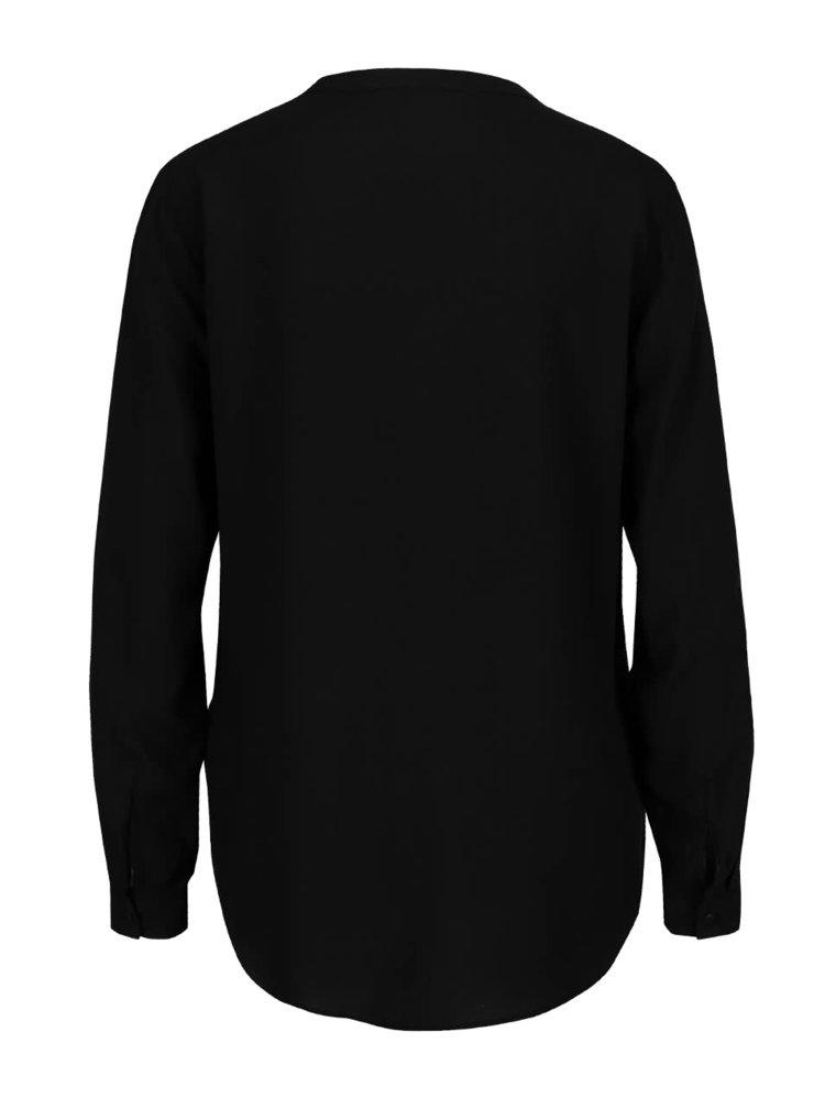 Cămașă tip tunică neagră ONLY First