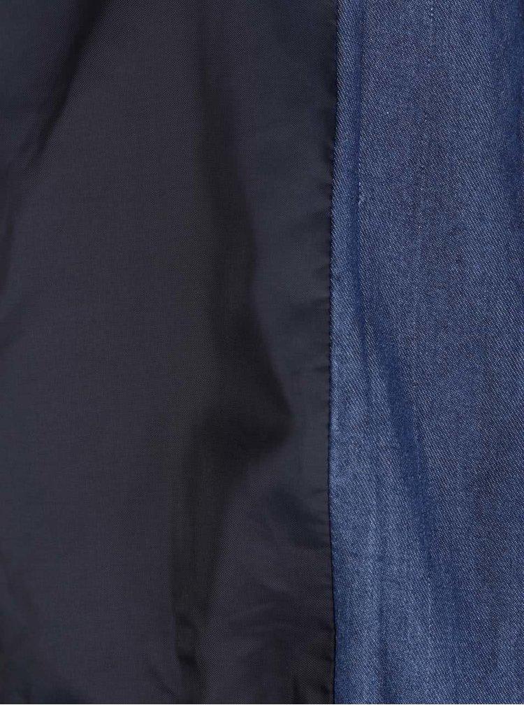 Tmavě modrý džínový bomber ONLY Teresa