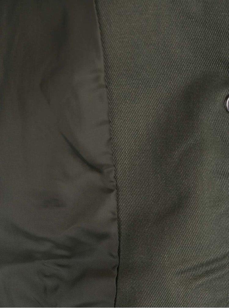 Khaki parka s kapucí ONLY Orca