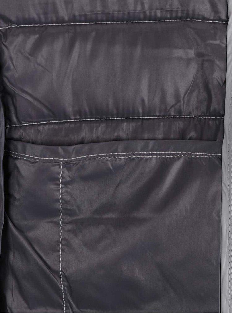 Šedá prošívaná bunda ONLY Tahoe