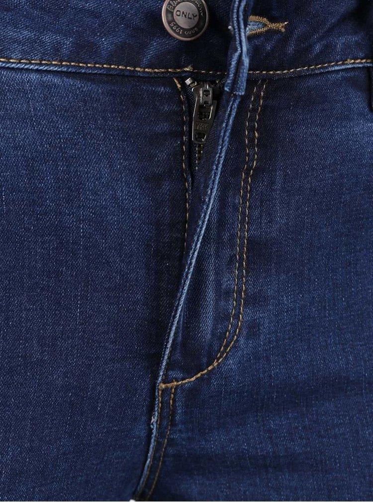 Tmavě modré skinny džíny ONLY Denim