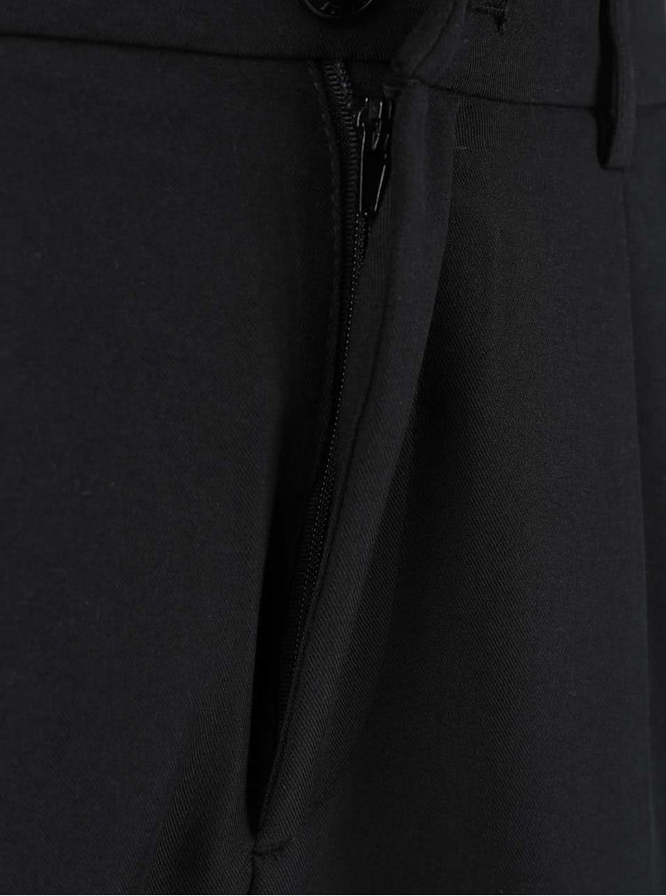 Černé kalhoty s elastickým pasem ONLY Popstar