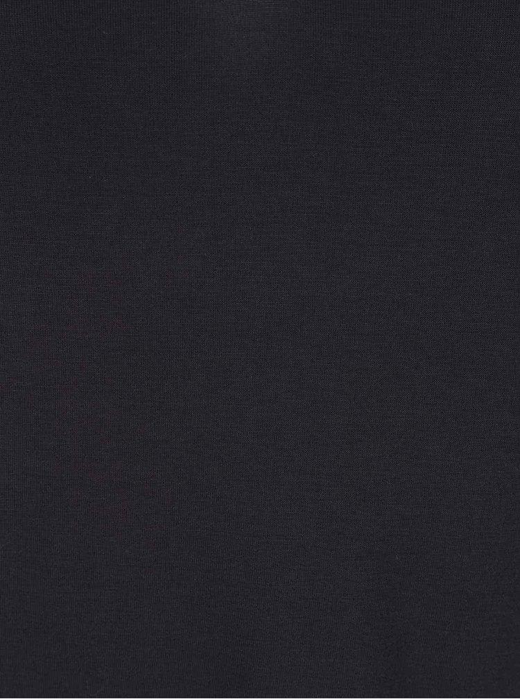 Tmavě modré tričko s krátkým rukávem ONLY Prime