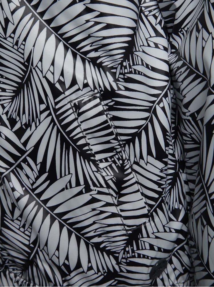 Geacă reversibilă alb & gri Boboli cu imprimeu pentru fete