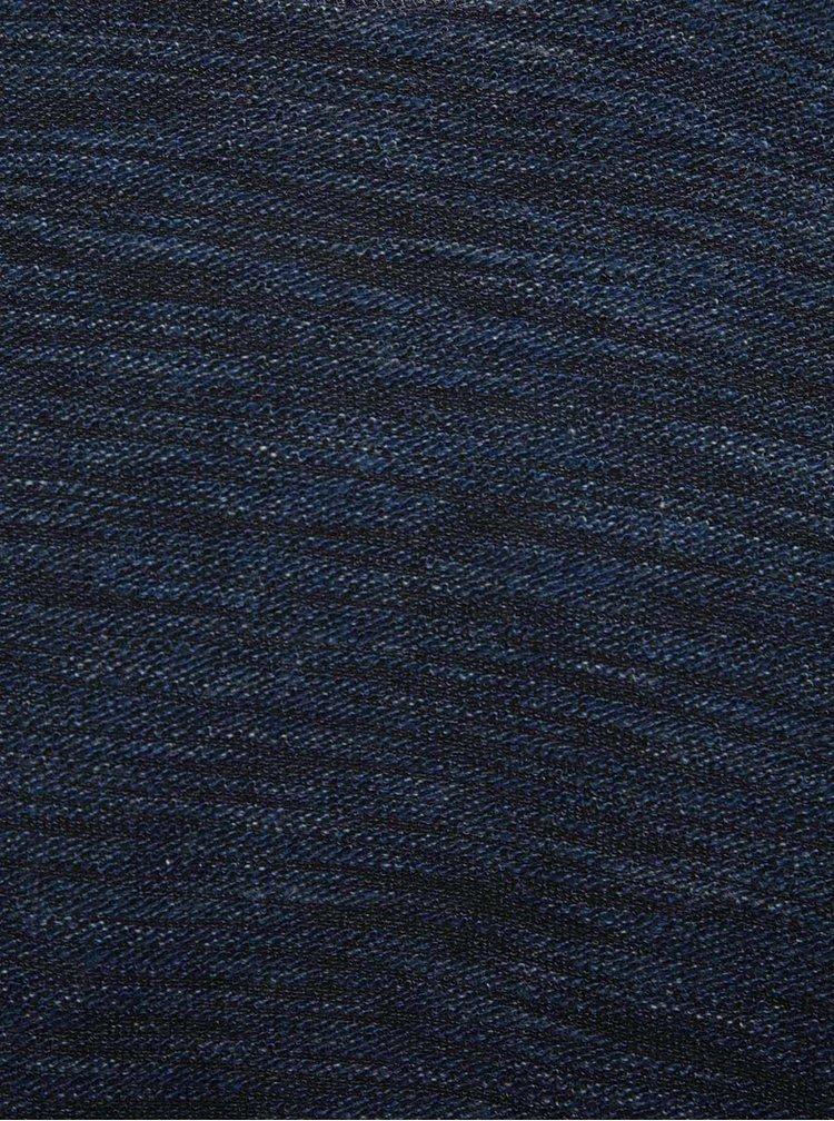 Modrý žíhaný svetr Selected Homme Peen