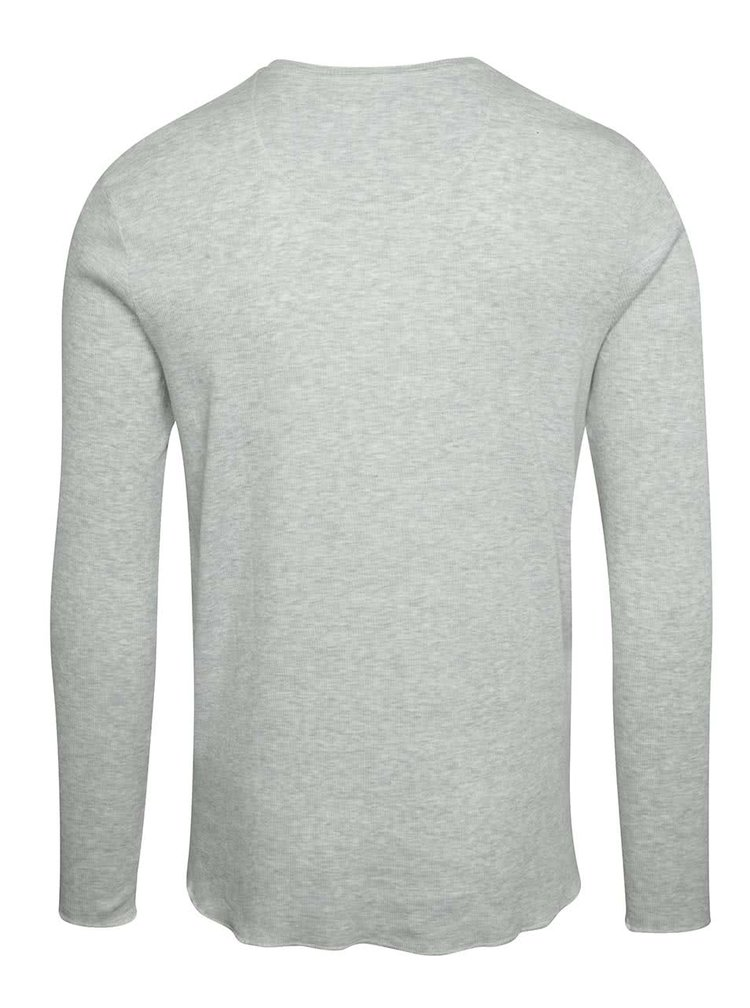 Bluză gri deschis Selected Homme Halex cu nasturi