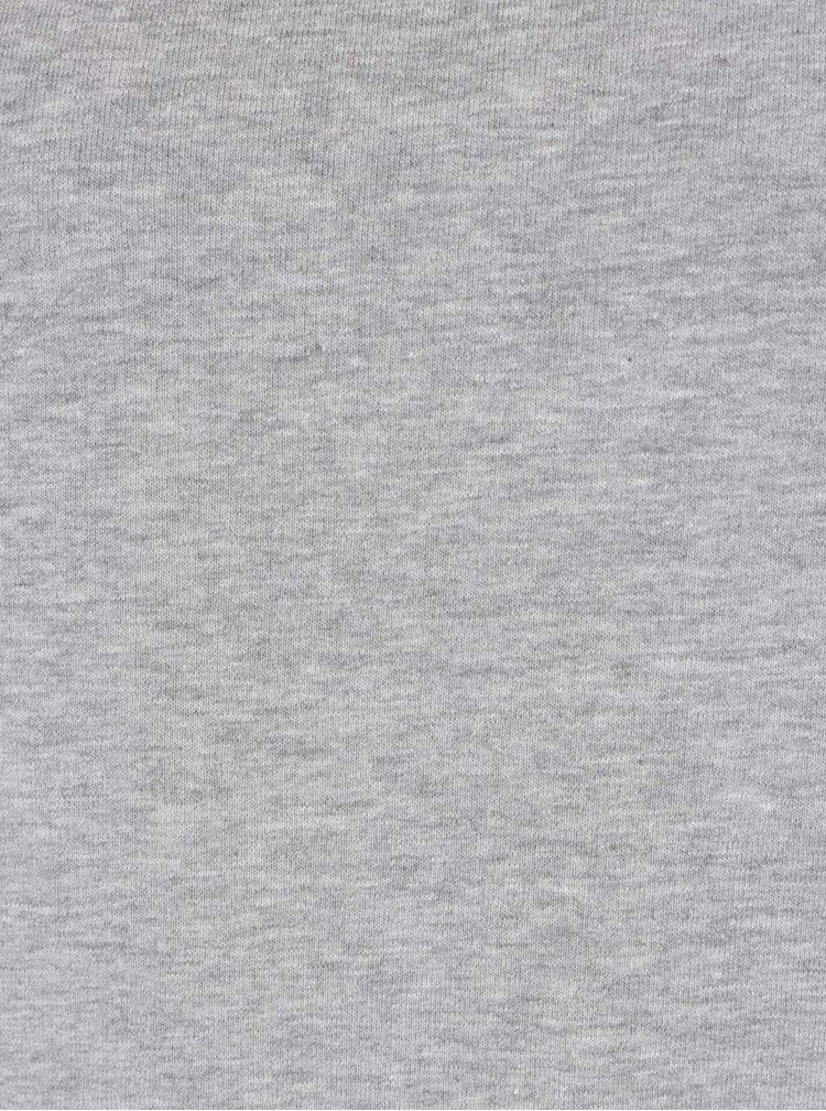 Světle šedá dlouhá mikina Jacqueline de Yong Lexus