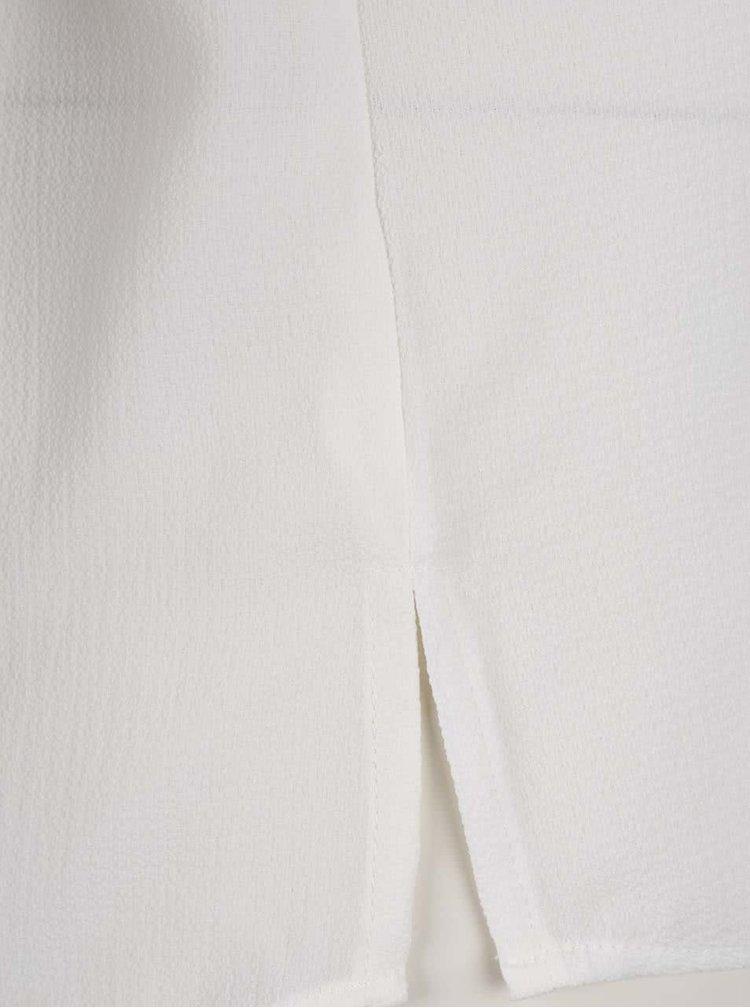 Krémová halenka s dlouhými rukávy Jacqueline de Yong Track