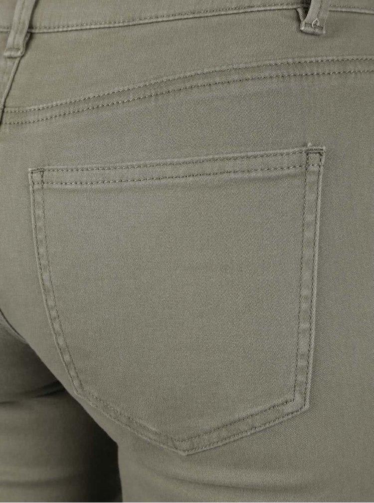 Khaki džíny Jacqueline de Yong Five