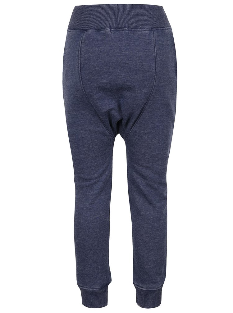 Pantaloni sport albastru melanj Blue Seven pentru baieti