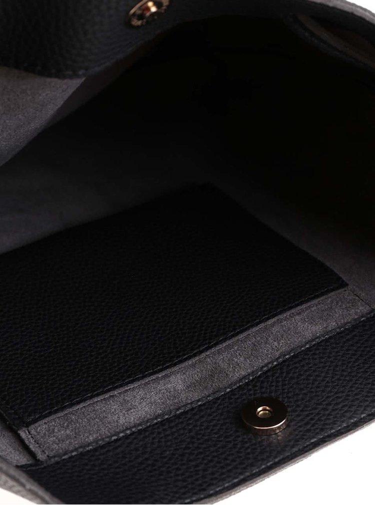 Černá větší crossbody kabelka se stahováním Haily´s Xena