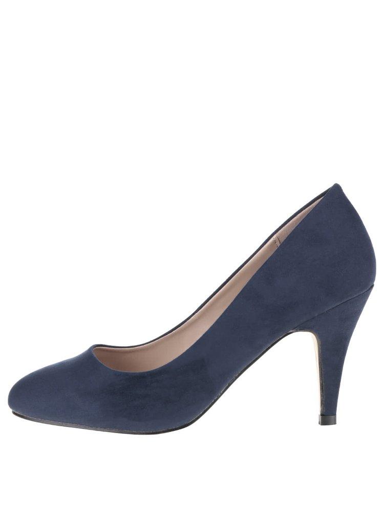 Pantofi albastri Dorothy Perkins cu toc