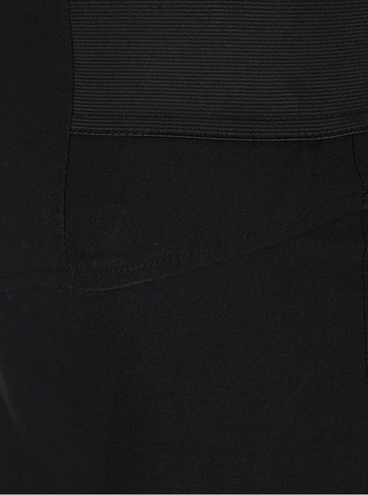 Černá pouzdrová sukně Miss Selfridge