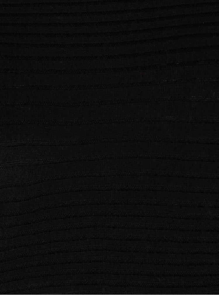 Pulover negru Dorothy Perkins Curve cu umerii căzuți