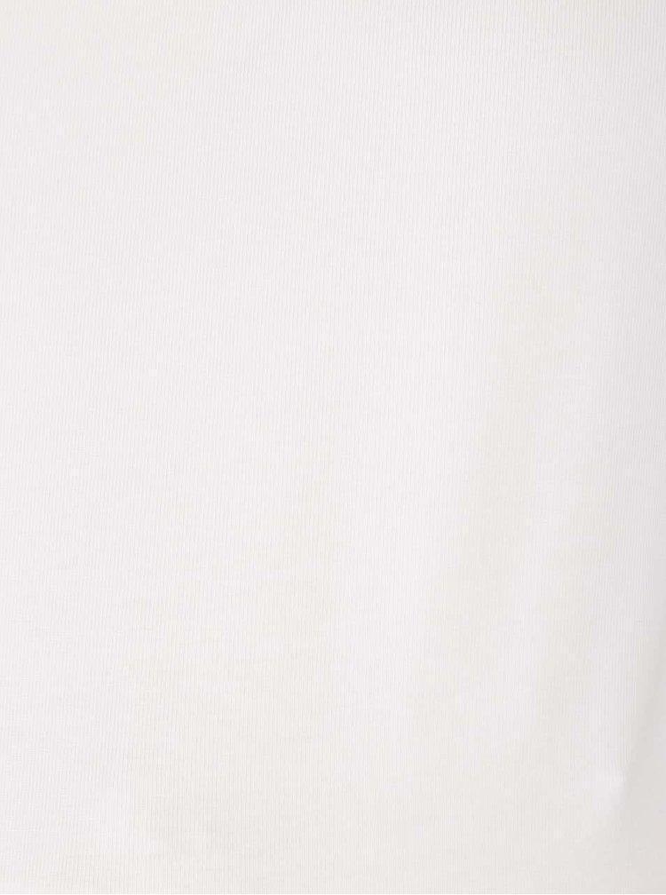 Set alb fildes&negru cu doua bluze Mama.licious Lea