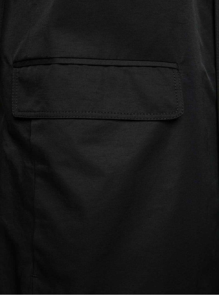 Černý lehký kabát Selected Homme Greg