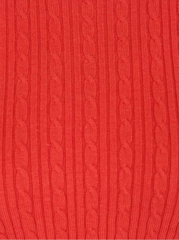 Pulover portocaliu Dorothy Perkins
