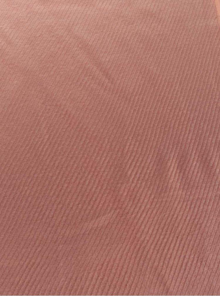 Eșarfă roz pal Pieces Kial