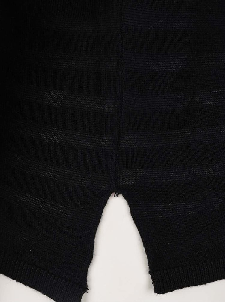 Bluza neagra in dungi ONLY Hannah