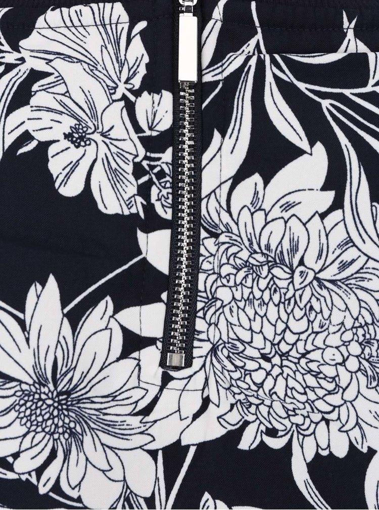 Rochie bleumarin cu imprimeu floral ONLY Flour