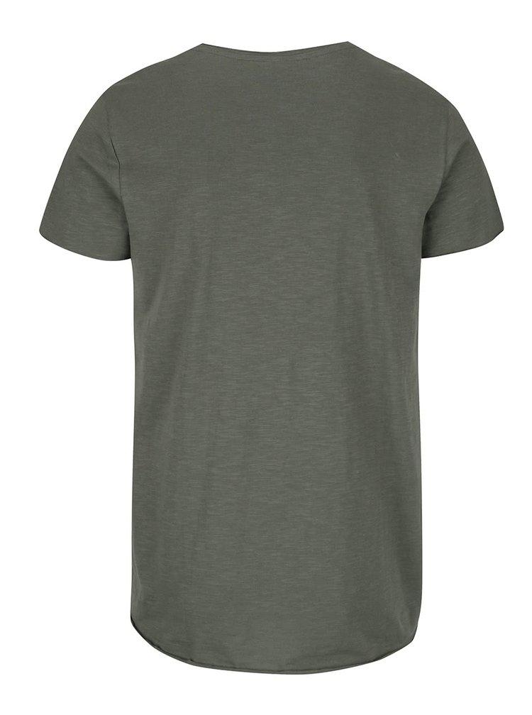 Zelené tričko Jack & Jones Orbas