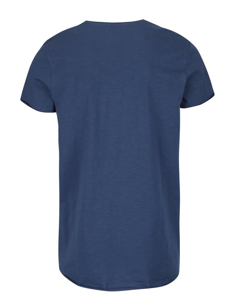 Modré tričko Jack & Jones Orbas