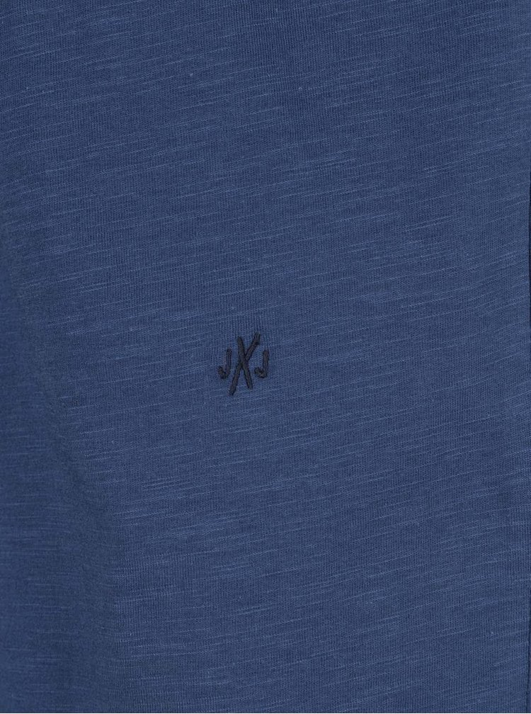 Tricou albastru Jack & Jones Orbas
