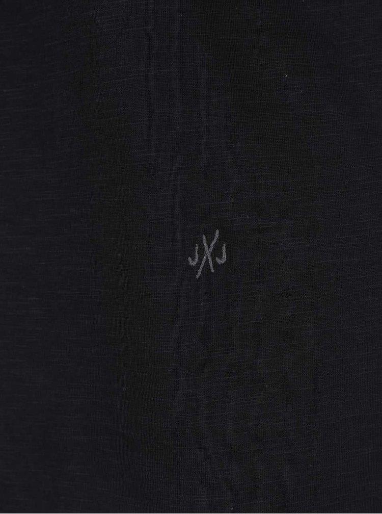 Tricou basic negru Jack & Jones Orbas