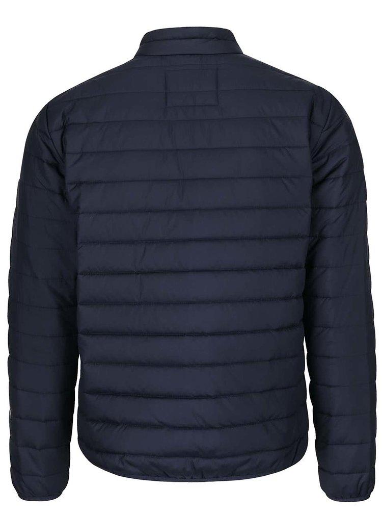 Tmavě modrá prošívaná bunda Jack & Jones Addy