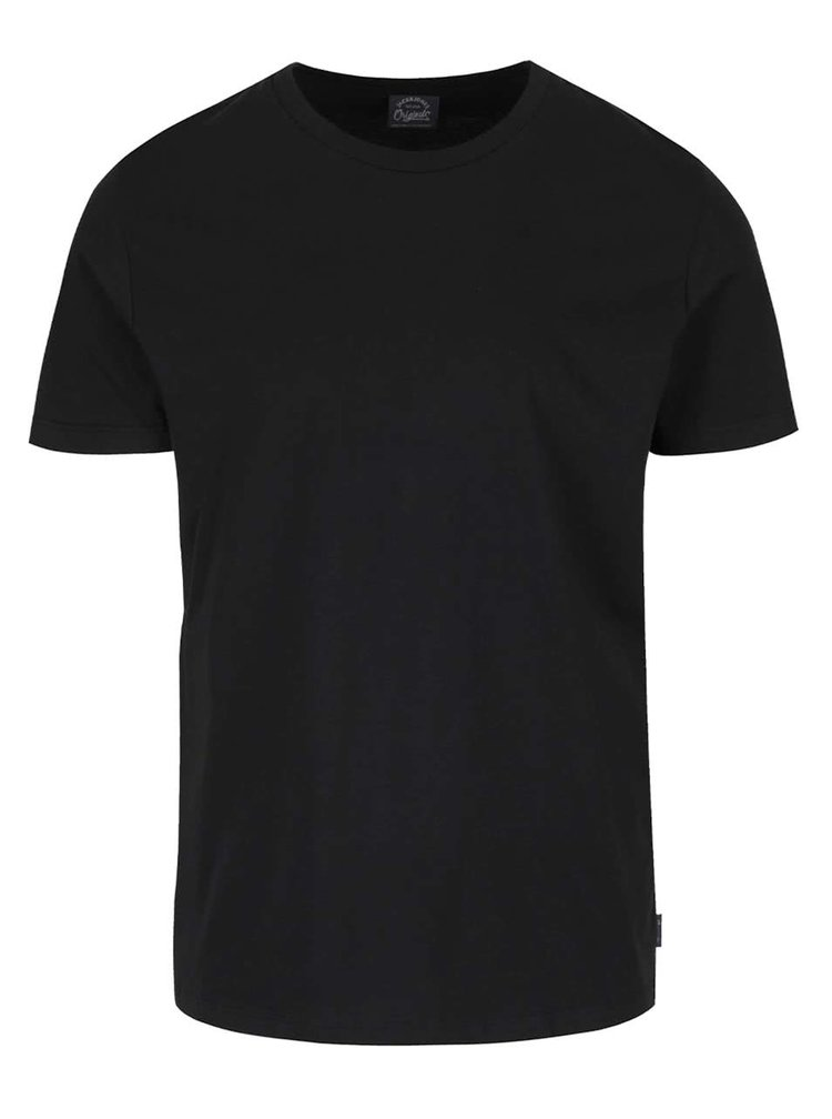 Tricou negru Jack & Jones Basic