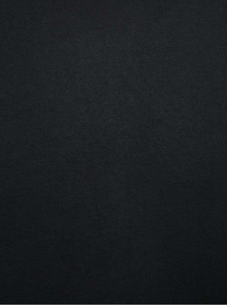 Pulover negru Selected Homme San