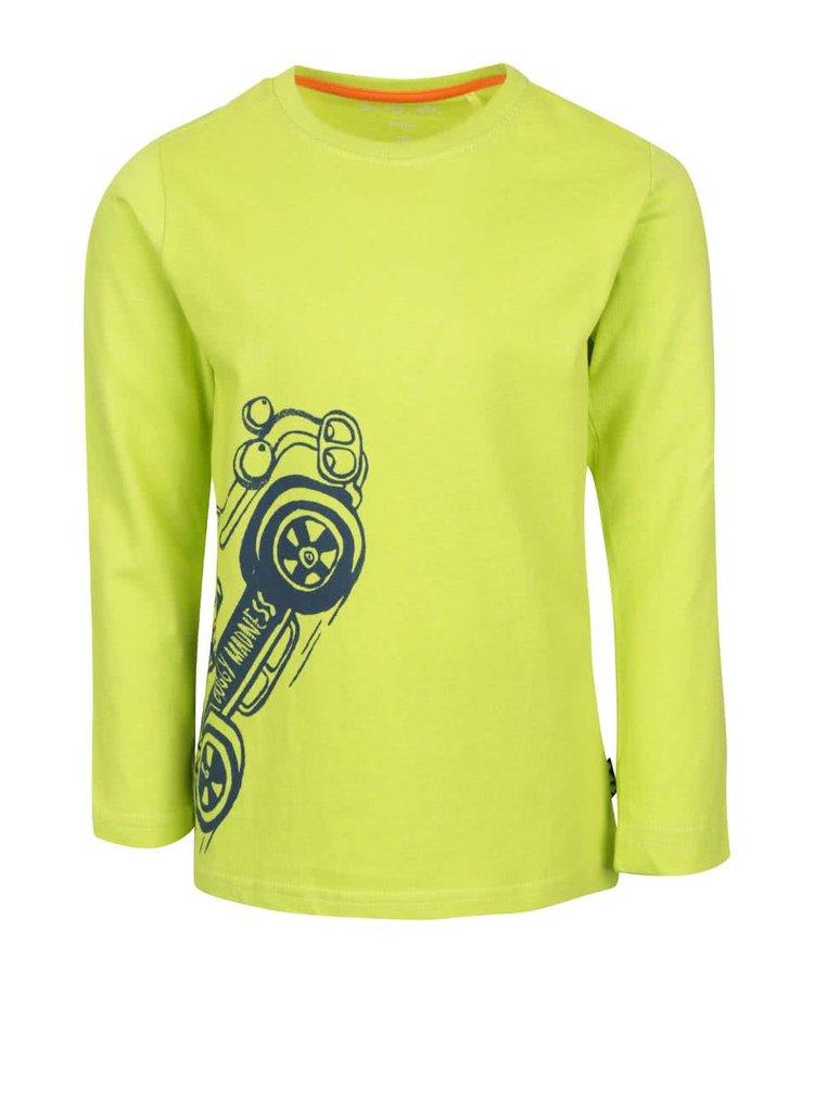 Bluză de băieți  5.10.15. galbenă cu print
