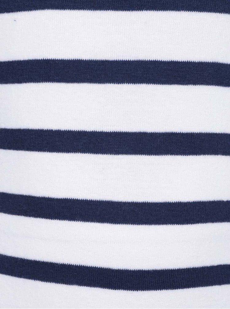 Sada dvou klučičích tílek v modro-bílé barvě 5.10.15.