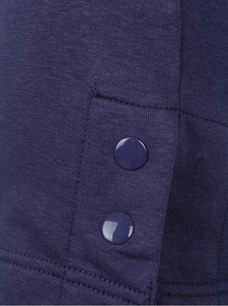 Tmavě modré holčičí mikinové šaty 5.10.15.